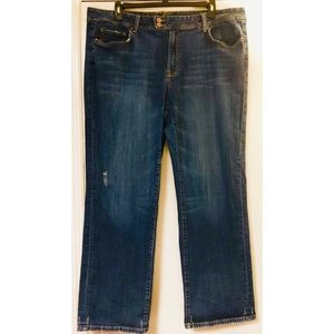 Seven7 distressed premium denim jeans